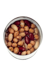 soaking beans and chickpea