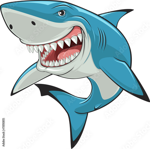 Fototapeta White shark