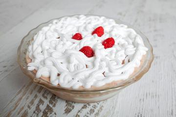 Raspberry cake - sweet delight