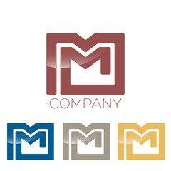 letter M logotype