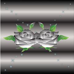 Gray Rose in Love