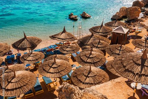 Red Sea coastline  in  Sharm El Sheikh,  Egypt, Sinai - 78113683