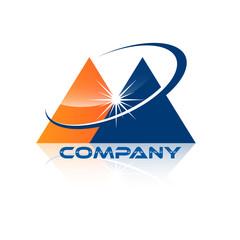 pyramid logotype