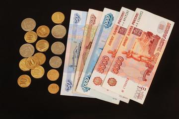 Российские деньги. Монеты и купюры