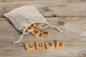 "Lettere ""Love"""
