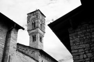 Ossuccio church, Como Lake, Italy