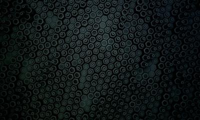 Dark hexagon pattern2