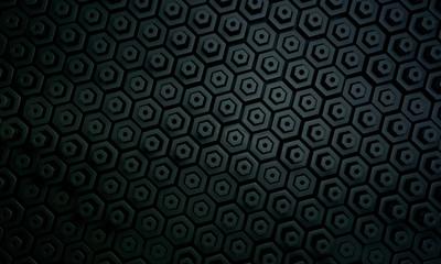 Dark hexagon pattern1