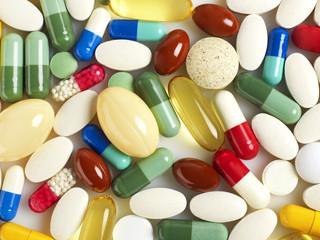 Pills background