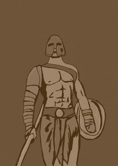 Vintage gladiator