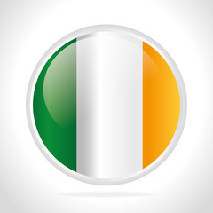 Irish design, vector illustration.