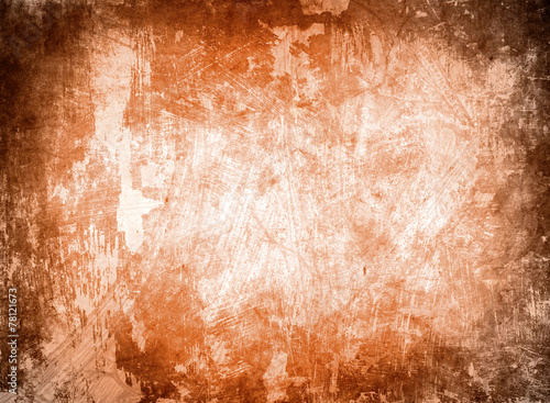 Leinwandbild Motiv warm grunge background