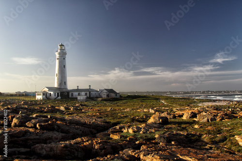 Seal Point Lighthouse in Cape St. Francis, Südafrika - 78122402