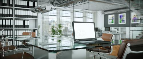 Leinwanddruck Bild moderner Konferenzraum