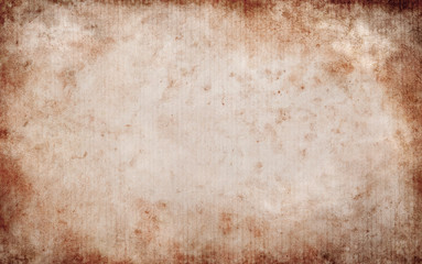 Blank Grungy Paper Background