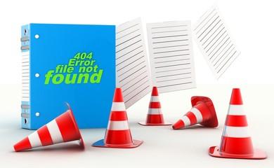 404 Error file not found