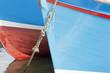 Bug von Fischerbooten im Hafen von Mevagissey,Cornwall,Großbrit - 78125843