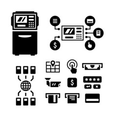 Set icons of ATM