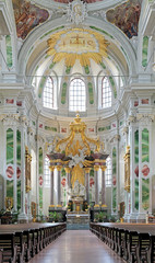 Altar of Jesuit Church in Mannheim, Germany