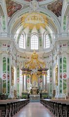 Altar of Jesuit Church in Mannheim, Germany