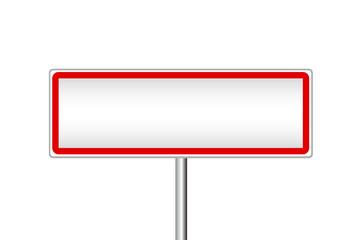 panneau de signalisation