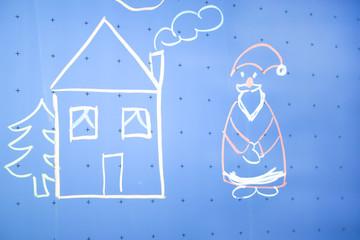 Haus mit Nikolaus