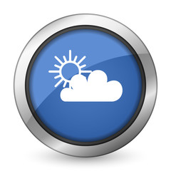cloud icon waether forecast sign