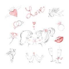 Love, heart, Valentine's Day.