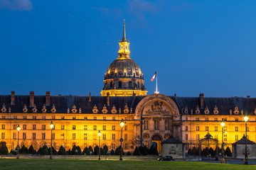Les Invalides in  Paris
