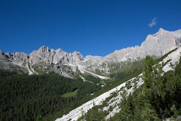 Catinaccio - Rosengarten dal rifugio Gardeccia - Italy