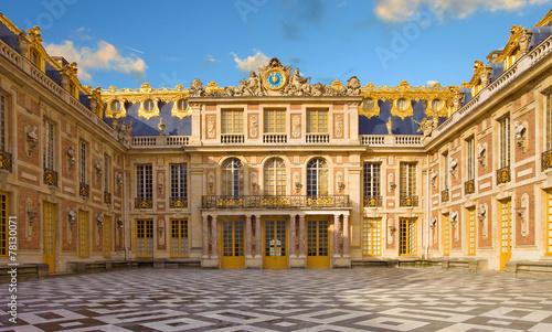 Foto op Canvas Kasteel Château de Versailles