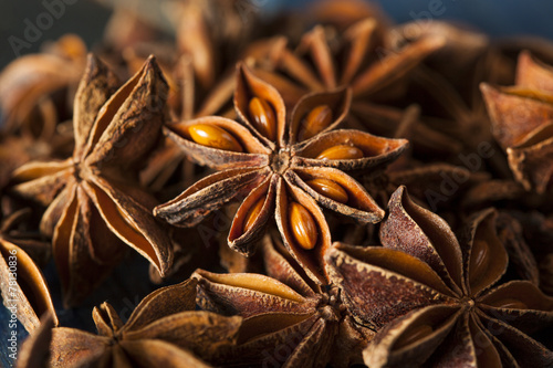 canvas print picture Organic Dry Star of Anise