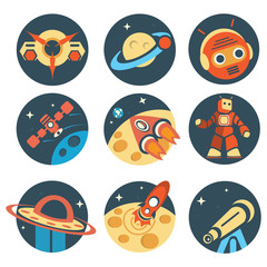 Conquest of Space icon pack