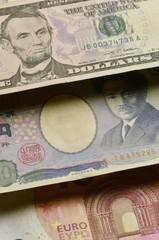 アメリカ合衆国ドル 日本円 ユーロ United States dollar Japanese yen Euro