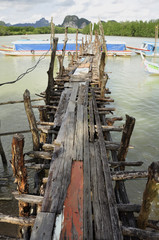 Well maintained pier