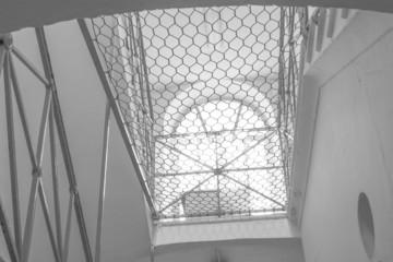 Wire mesh to prevent suicide