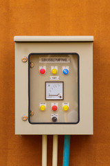 electric control box - Stock Image