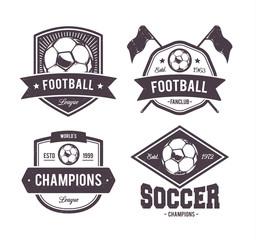 Vector Footballl Emblems