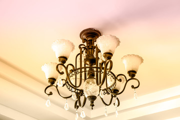 lamp metal ceiling light fixture