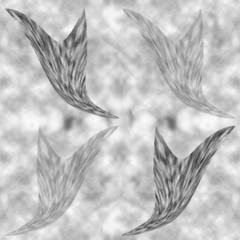 seamless texturefeathers consisting of fleece on a background of