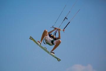Kitesurfing