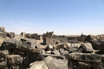 Ruins of Azraq Castle,  central-eastern Jordan