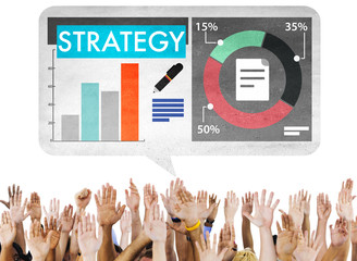 Strategy Data Information Plan Marketing Solution Vision Concept