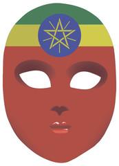 Ethiopia mask
