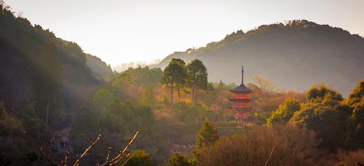 Red pagoda
