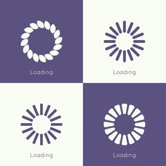 Set of vector downloaders.