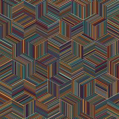 stripe cube