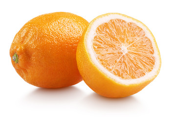 Rangpur (lemandarin) - citrus fruit, hybrid mandarin and lemon