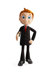businessman with shakehand pose