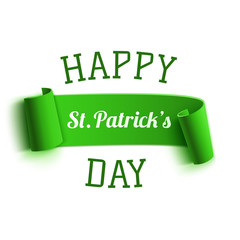 Saint Patricks Day greeting card. Background template